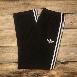 Mens Adidas Originals Black Track Pants Large
